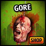 Gory bodies, gore, guts, prop bodies & bloody haunted house decorations