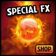 Special FX, lighting, fire effects, flame machines, confetti & magic