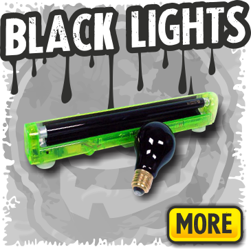 Black Lights for Halloween Parties & Haunted Houses